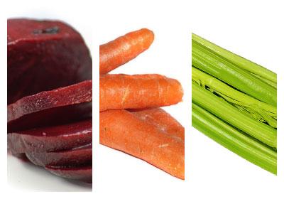 Zeleninový nápoj s červenou řepou