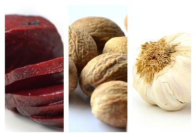 Salát z červené řepy s vlašskými ořechy